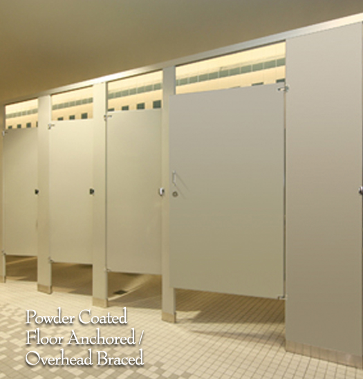 ASI Accurate Partitions The Z Group - Phenolic bathroom partitions